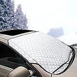 Jhua Windschutzscheiben-Abdeckung für Autoscheibe, EIS-Windschutzscheibe, Staub, Sonnenschutz