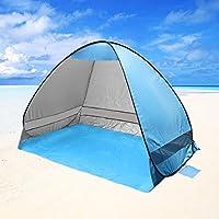 beschoi Tenda di campeggio automatico Pop Up Instant portatile tenda Cabana Beach 2–3persone campeggio pesca escursionismo Picnic di protezione anti UV di spiaggia