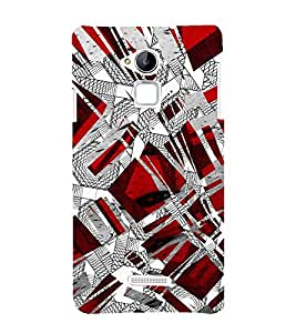 99Sublimation Animated Pattern of Greek Key 3D Hard Polycarbonate Designer Back Case Cover for Coolpad Note 3