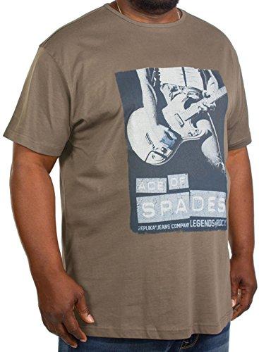 Replika -  T-shirt - Uomo Green XXX-Large