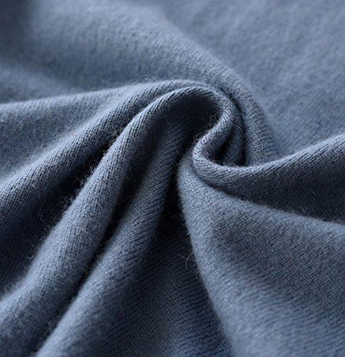 LongMing -  Maglione  - Donna Star Blue