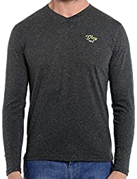 [Sponsored]Dream Of Glory Inc. Men's Branded Full Sleeve Cotton V-Neck Printed T-Shirt With Glory Embroidery In Plus Sizes...