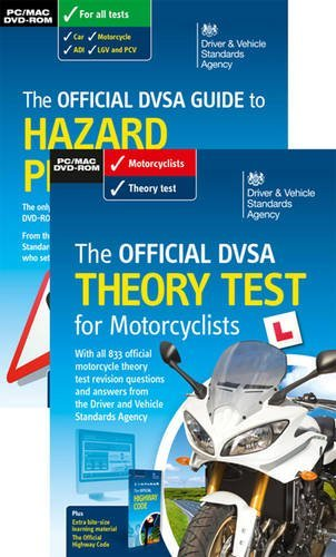 The official DVSA theory test for motorcyclists pack by Driver and Vehicle Standards Agency (2014-04-23)