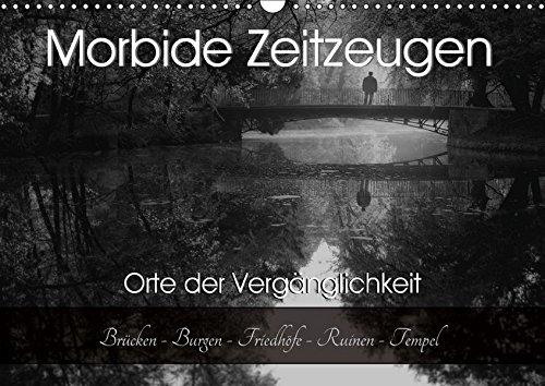 Morbide Zeitzeugen - Orte der Vergänglichkeit (Wandkalender 2018 DIN A3 quer): Ich nehme sie mit auf eine geheimnisvolle Reise in die Vergangenheit! ... 01, 2017 Felber / Foto Augenblicke, Monika