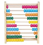 LBBC Kids Educational Toy Wooden Abacus - Colourful numbers learning toy | Best gift for Boys and Girls