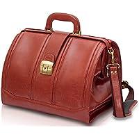 Elite Bags DOC'S Klassik-Arzttasche Braun Leder 37 x 26 x 24 cm preisvergleich bei billige-tabletten.eu