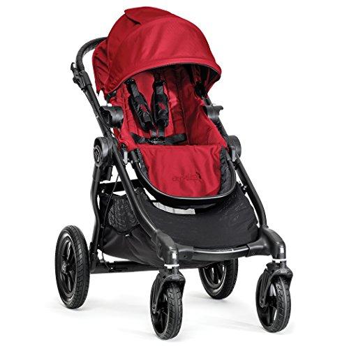 Baby Jogger BJ0142343640 City Select Passeggino, Telaio Black, Red