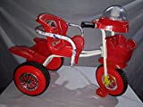 #9: Chinar Three wheeler kids bicycle with musical hood And Basket Suitable for 2years to 5years kids-Red