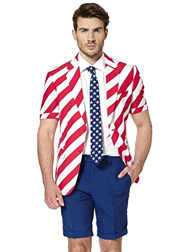 Generique - Opposuits Sommeranzug United Stripes L ()