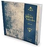 GOCKLER® 3 Jahres Kalender: 190+ Seiten Journal für 3 Jahre || Glänzendes Softcover || Ideal als Tagebuch, Notizkalender, Aufgabenplaner oder Erfolgsjournal || DesignArt.: Grunge Wall