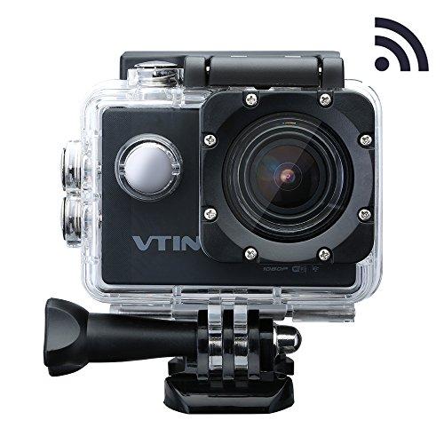 VicTsing Eypro1 Cámara Acción WIFI Resistente al Agua,1080p Vídeo y