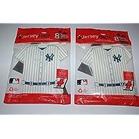 New York Yankees 2x8 (=16) Servietten Jersey Naps in Form der Spieler Trikots (16)