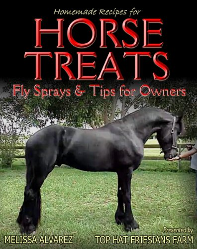 Homemade Recipes for Horse Treats plus Fly Sprays & Tips for Owners