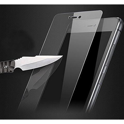 Prevoa ® 丨 XIAOMI MI4S - Original PROTECTOR de PANTALLA CRISTAL TEMPLADO para XIAOMI MI4S 4G 64bit 5.0 Pulgada Smartphone -