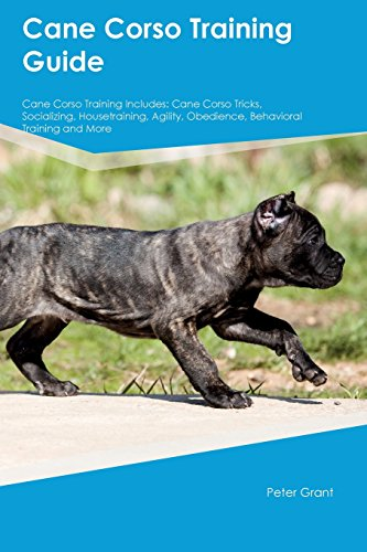 Cane Corso Training Guide Cane Corso Training Includes: Cane Corso Tricks, Socializing, Housetraining, Agility, Obedience, Behavioral Training and More (Angeln Cane)