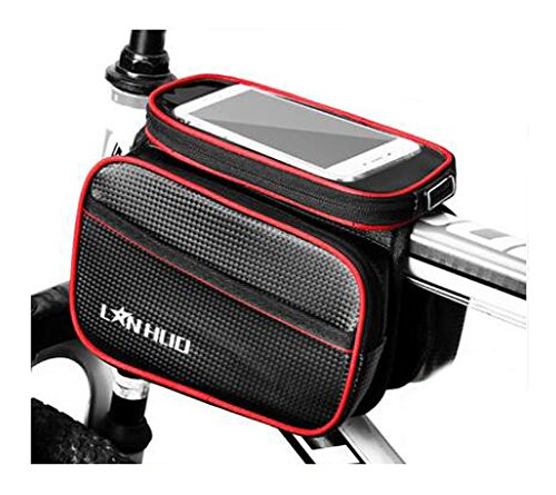 Bike Bag Bunte Fahrrad Lenker Pakete für 6 Zoll Telefon Multi-Funktions-Fahrrad-Zubehör#21
