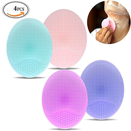 travelmall-4-piece-skinsoft-silicone-makeup-cleaner-brush-precision-pore-cleansing-pad-anti-slip-bla