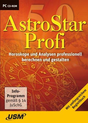 AstroStar Profi 5.0 - Horoskope und Analysen professionell berechnen und gestalten