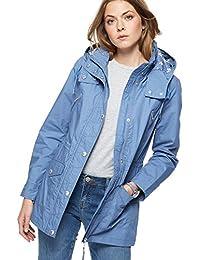 Debenhams Mantaray Womens Blue Shower Proof Hooded Jacket