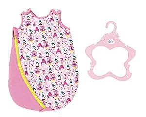 Zapf Baby Born Sleeping Bag Bolso de Dormir para muñecas - Accesorios para muñecas (Bolso de Dormir para muñecas, 3 año(s), Azul, Rosa, 43 cm, Chica, 43 cm)