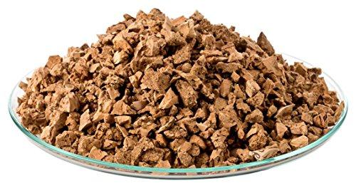 1 Liter Korkgranulat, MITTELGROB (3-8 mm) (Kork-Substrat, Kork-Schrot) für Terrarien (Reptilien), Terrariensubstrat (Späne, Einstreu, Bodengrund) oder Dekoration/Modellbau