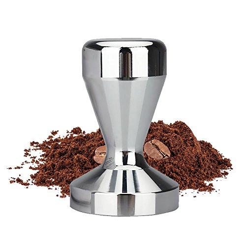 innislink Kaffee Tamper, Espresso Tamper 51mm Kaffeemehlpresser Espresso Kaffeebohnenpresse Espresso Stampfer aus Edelstahl für Siebträger-Espressomaschinen - 51mm/2Zoll