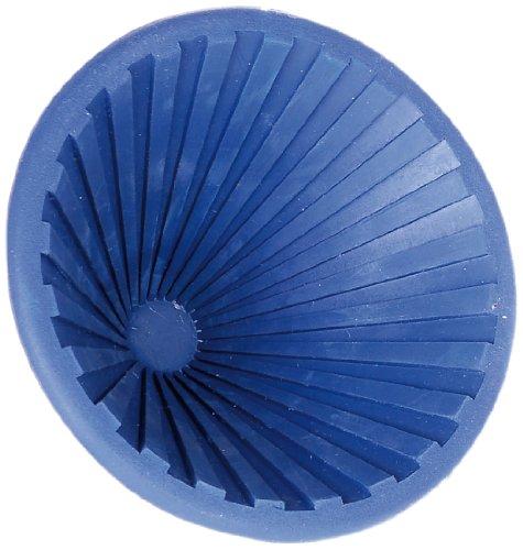 GAH-Alberts 140557 Anti-Rutsch-Schraubglasöffner - Weichgummi, blau