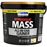USN Hyperbolic Mass Gain Shake Powder, Vanilla - 6 kg