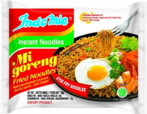 Indomie Instantnudeln, Mi Goreng, classic, 40er Pack (40 x 80 g)
