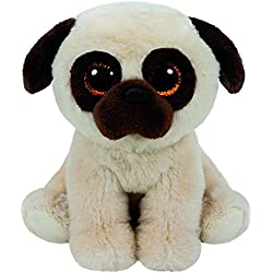 TY - Beanie Babies Rufus, Carlino, 23 cm (United Labels Ibérica 90242TY)