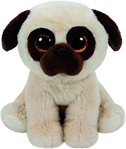 """Beanie Boo Dog - Rufus - Pug - 33cm 13"""""""