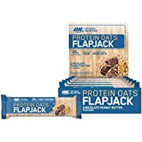 Optimum Nutrition Protein Oats Flapjack, Chocolate Peanut Butter, 12 Pack
