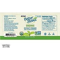 Reines Bio Stevia Pulver (28g) - ohne Zusätze - Better Stevia