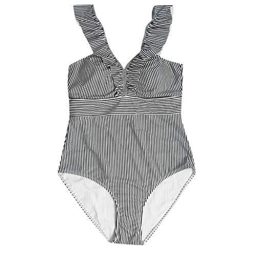 Up Bodysuit Back Strap Push-Up-BH Badeanzug Bademode Frauen Sexy Straps Solide Bikini Set Badeanzug, Tankini Bikini BH Beachwear, Strandbadeanzug Bikini ()