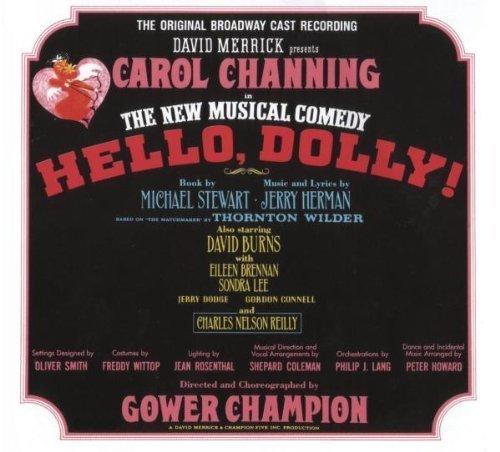 Hello, Dolly! Original 1964 Broadway Cast Recording by Orginial Cast Recording Cast Recording edition (2009) Audio CD (Hello Dolly 1964)