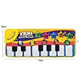 skyblue-uk Baby Toys Touch Mat of Piano Keyboard Musical Singing Carpet Funny Animal Blanket