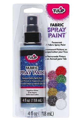 Tulip 4oz Spray Paint (Sapphire Glitter)