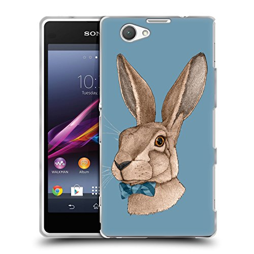 official-barruf-mr-hare-animals-soft-gel-case-for-sony-xperia-z1-compact-d5503