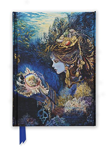 Josephine Wall: Daughter of the Deep (Foiled Journal) (Flame Tree Notebooks, Band 11) (Wall Josephine Journal)