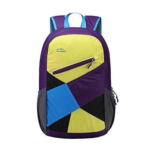 YYY-Borsa a tracolla tempo libero Sport pacchetto nuova coppia all'aperto viaggio zaino , blue bright yellow