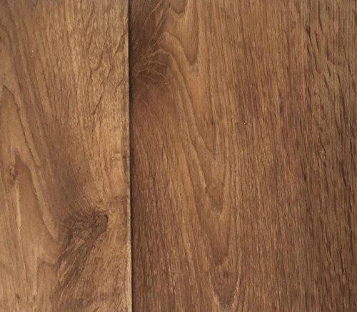 PVC Vinyl-Bodenbelag in Holz Optik Birne | CV PVC-Belag verfügbar in der Breite 200 cm & Länge 300 cm | CV-Boden wird in benötigter Größe als Meterware geliefert & trittschalldämmend