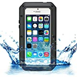 iProtect iPhone 5 / 5s Outdoor Case Schutzhülle Hartglas Shock- and Dirtproof in schwarz