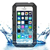 iProtect iPhone 5 / 5s Outdoor Case Schutzhülle Panzerglas Shock- and Dirtproof in schwarz