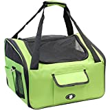 Me & My Pets Cat/Dog Car Seat/Carrier - Green