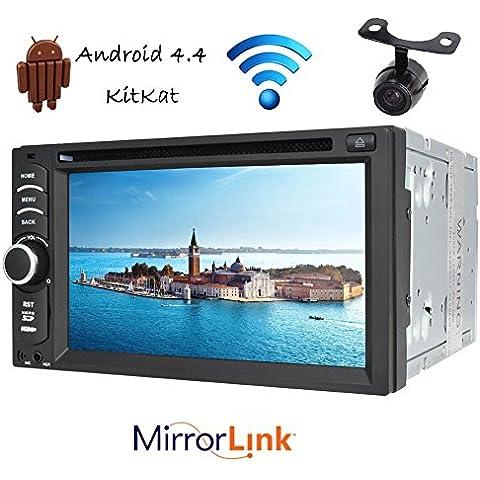 fotocamera libero + nuovo arrivo doppio 2 DIN touch screen