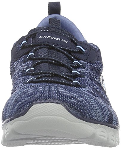 Skechers - Ez Flex 3.0 take-the-lead, Scarpe da ginnastica Donna Blu (Blu (Navy))