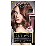 L 'Oréal Preferencia INFINIA 5.23Chocolate Oro Rosa Permanente tinte de pelo, pack de 3