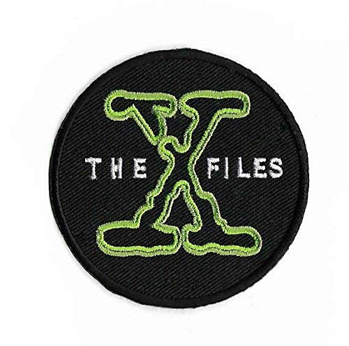 stickt Eisen/Nähen auf Badge xfiles Poster Souvenir Alien Extra Terrestrial Aufnäher ()