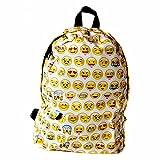 School Bag, CAMTOA Mochila Escuela/Cool Backpack/Mochila Linda/Emoji Backpack - Perfecto para La Escuela, El Trabajo, El Deporte, Comidas Campestres, Al Aire Libre Eventos.