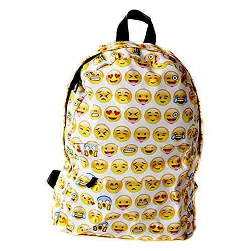Imagen de school bag, camtoa  escuela/cool backpack/ linda/emoji backpack  perfecto para la escuela, el trabajo, el deporte, comidas campestres, al aire libre eventos.